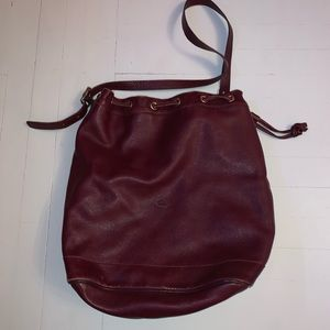 Longchamp bucket bag tote